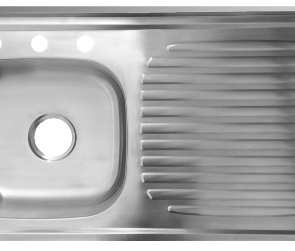 50.Lavaplatos 100 x 50 x 14.5 para mezcladora 30004-30005